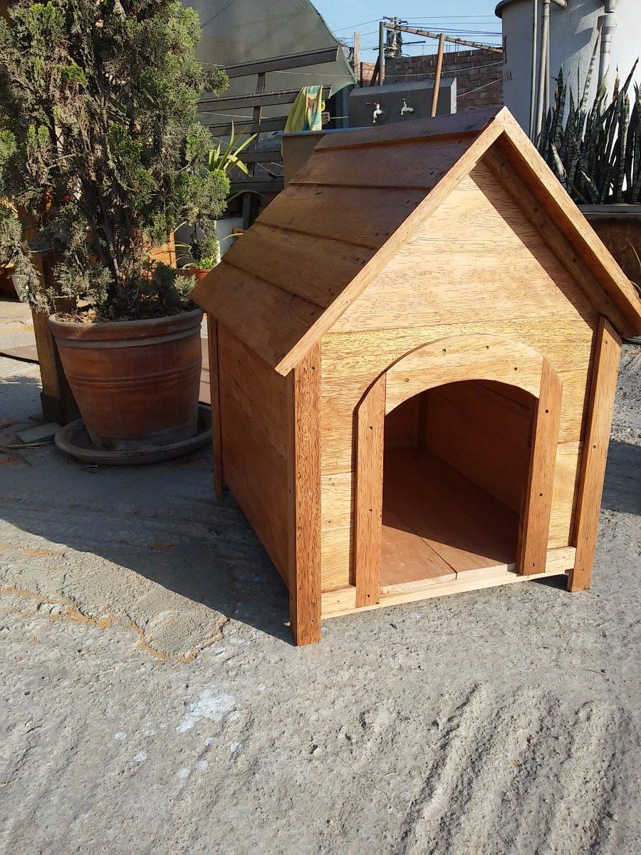Casa De Perro En Madera Tornillo Resistente Duradero - S/ 219,00 en ...