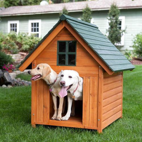 Casa de perro grande madera c 7 en mercado libre - Casa de perro grande ...