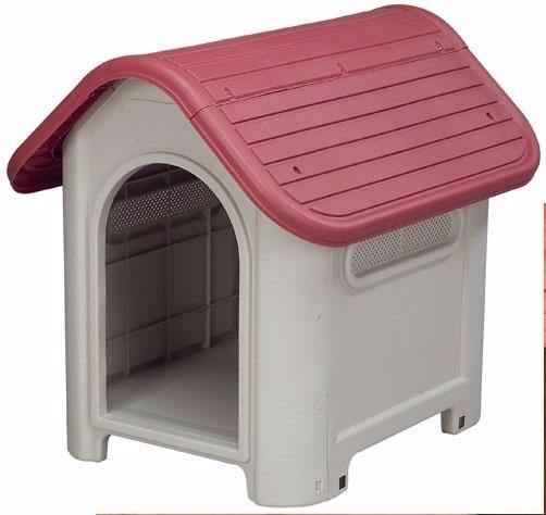 Casa de plastico para perros chicos a medianos 1 249 for Puertas perros medianos