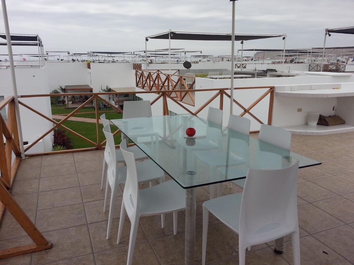 casa de playa asia del mar. canchas de tenis, piscina