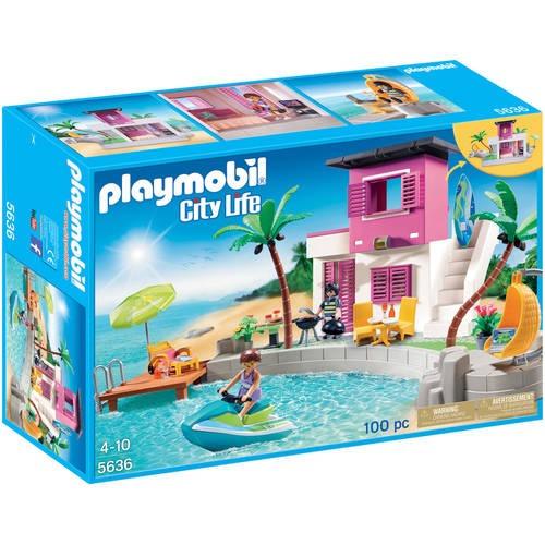 Casa De Playa De Lujo De Playmobil En Mercado