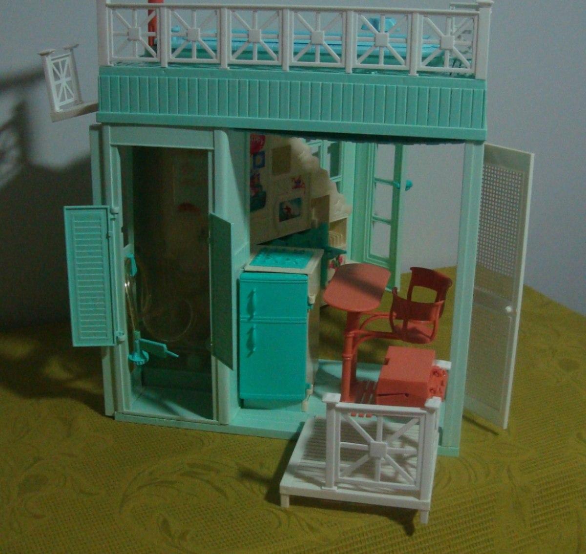 Casa de praia da barbie anos 90 r 280 00 em mercado livre - Arreglar la casa de barbie ...