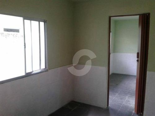 casa de quarto e sala, cozinha, banheiro e área externa, dentro de vila, com hidrômetro e relógio de energia, individual. - ca1248