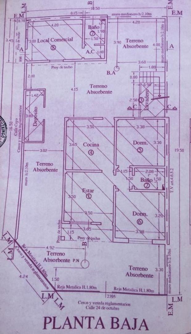 casa de seis ambientes