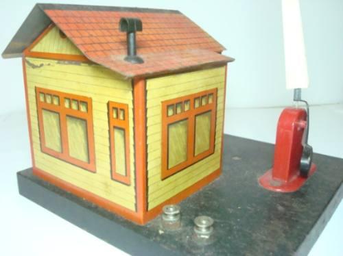 casa de trem de lata na caixa anos 50 lionel frateschi