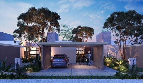 casa de un piso en privada a 8 min de plaza altabrisa