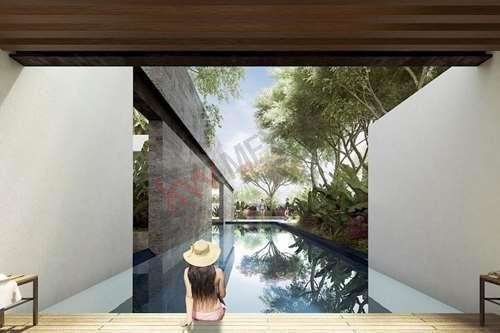 casa de una planta, con alberca en zona norte de merida yucatan , excelente inversion