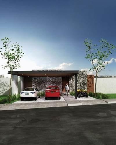 casa de una planta en conkal privada zelena