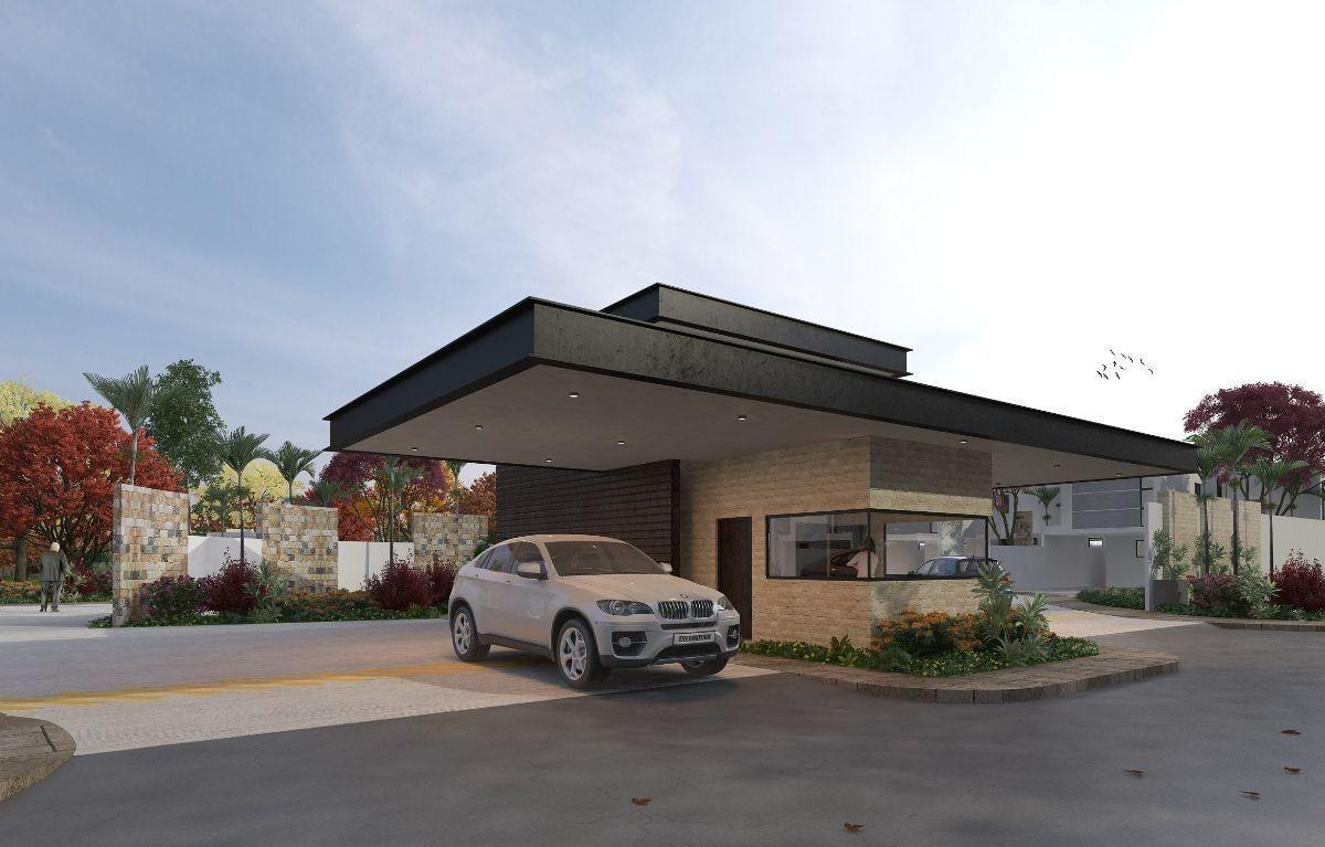 casa de una planta en privada al norte de mérida