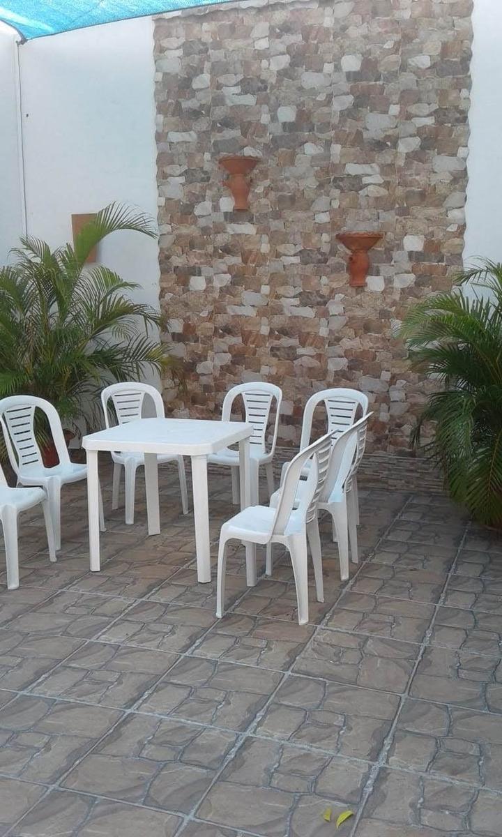 casa de veraneo con piscina conjunto cerrado 4 habitaciones