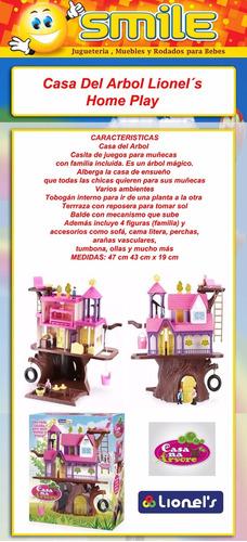 casa del arbol home play casita muñecas grande lionels smile