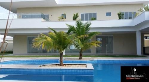 casa del lago - 5 suítes - 900m²  - 043f