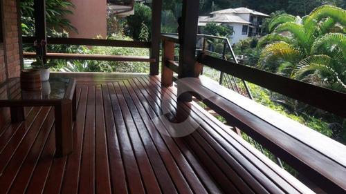 casa deslumbrante no melhor condomínio de pendotiba - ca0210