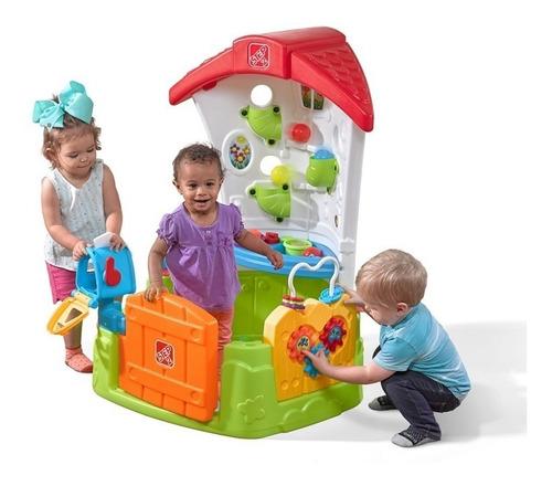 casa didáctica centro de actividad juego esquina step 2 niño
