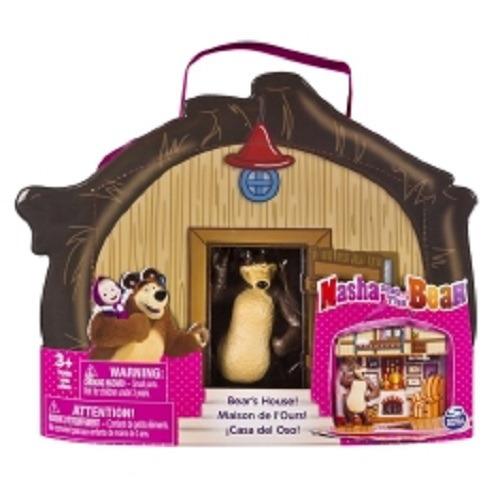 casa do urso maleta masha e o urso - sunny