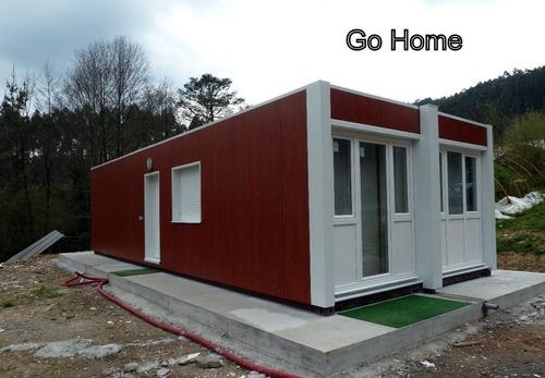 casa dos ambientes estilo minimalista a estrenar