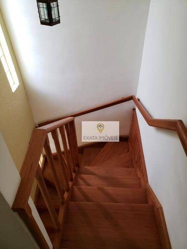 casa duplex 03 quartos/condomínio, centro/rio das ostras - ca1126