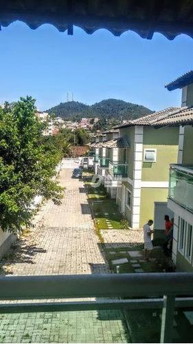 casa duplex  3 quartos em condomínio  maria paula - ca0029