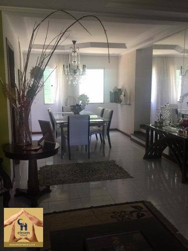 casa duplex a venda em condominio piatã salvador 4 quartos sendo 3 suites, sala, varanda, cozinha, banheiro, 4 vagas, 453 m². - ca00204 - 32597824