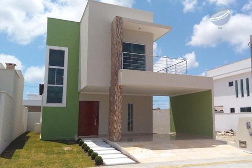 casa duplex com 150m², no condomínio central park i - ca0078