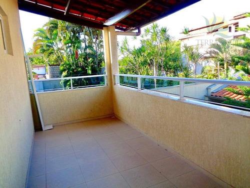 casa duplex com 180m² 3 quartos e escritório no parque manibura - ca0672