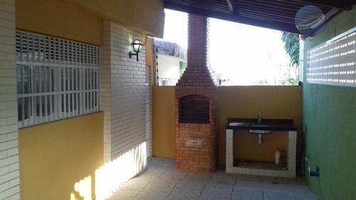 casa duplex com 3 suítes em excelente local da candelária - ca0010