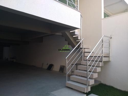 casa duplex com 4 quartos para comprar no santa branca em belo horizonte/mg - 3388