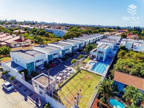 casa duplex com 4 quartos à venda, 189 m², 3 suítes, 2 vagas, área de lazer - sapiranga - fortaleza/ce - ca0160