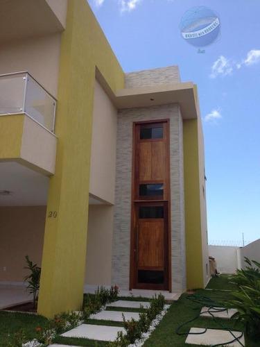 casa duplex com 4 suítes, a 200 metros da maria lacerda - santa sofia - ca0018