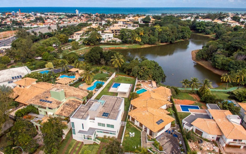 casa duplex em condominio 4 quartos sendo 2 suítes 538m2 em piatã - sfl050 - 33674621