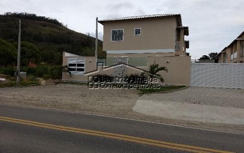 casa duplex em condomínio fechado de 2 quartos, sendo 2 suítes, no jardim atlântico