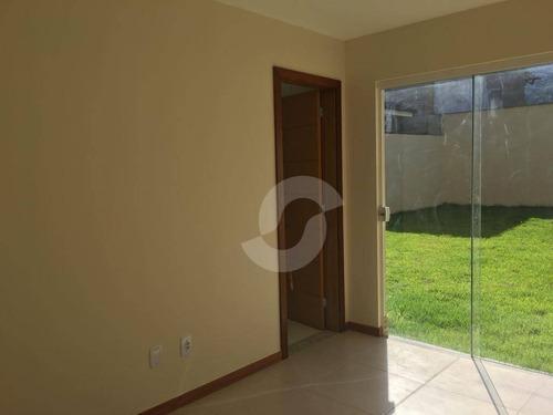 casa duplex em condomínio vila verde - itaipu - ca0505