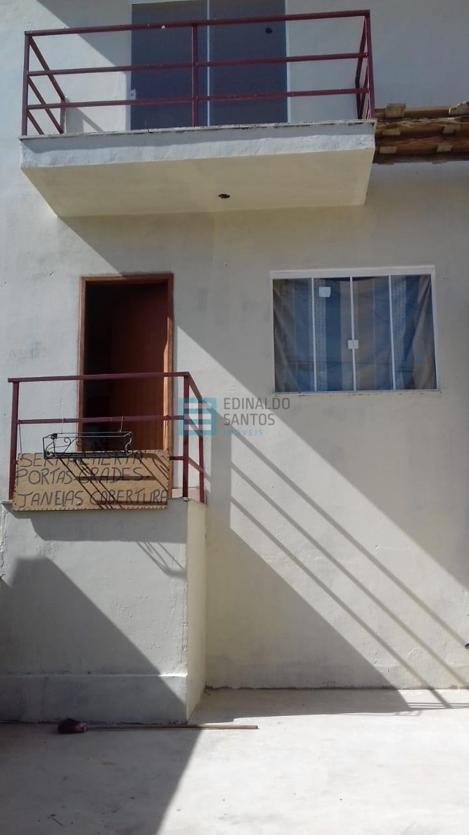 casa duplex em fase de acabamento ref.:6471 edinaldo imóveis - 6471