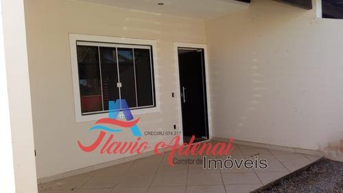 casa duplex impecável pertinho da praia em unamar cabo frio!!! - fac 061 - 34128106
