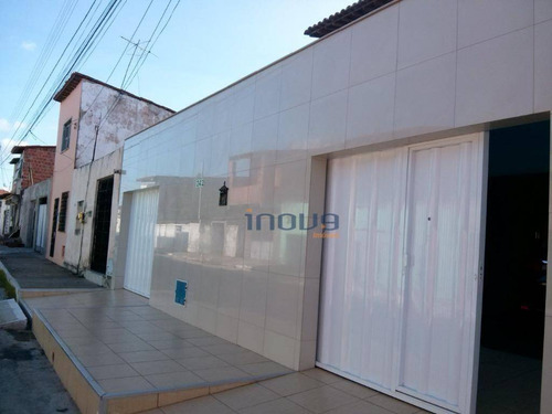 casa duplex no centro de maracanaú - ca0427