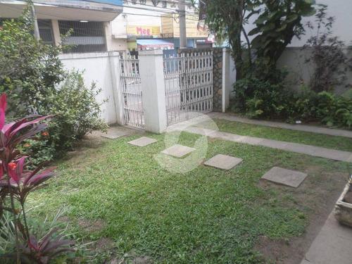 casa duplex no centro de são gonçalo, para moradia ou ponto comercial. - ca1607