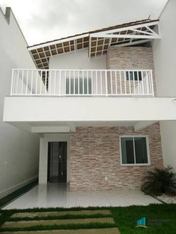 casa duplex nova residencial à venda, pires facanha, eusebio. - codigo: ca0068 - ca0068
