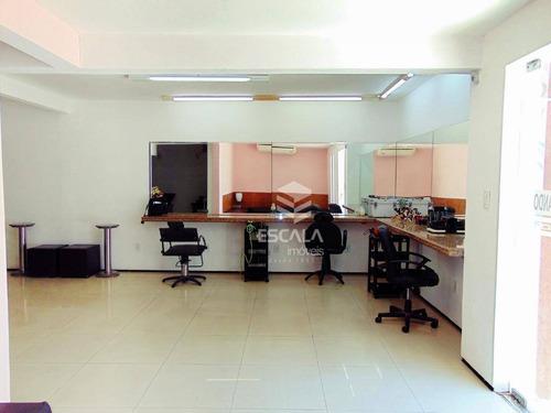 casa duplex residencial e comercial à venda no meireles, 400m2, a 550m da avenida beira mar. - ca0267