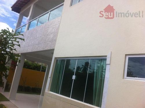 casa duplex residencial à venda, lagoa redonda, fortaleza. - ca0073