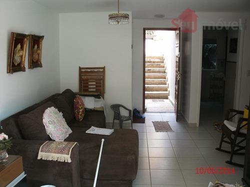 casa duplex residencial à venda, porto das dunas, aquiraz. - ca0129