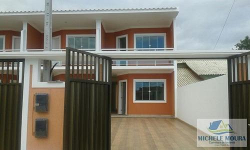 casa duplex/nova para venda em araruama, parque hotel, 2 dormitórios, 1 suíte, 1 banheiro, 2 vagas - 17