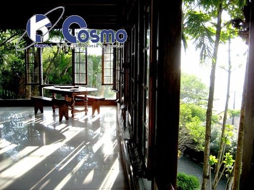 casa, e mais um terreno,  á venda na península, guarujá - praia da enseada - ca00013 - 4243822