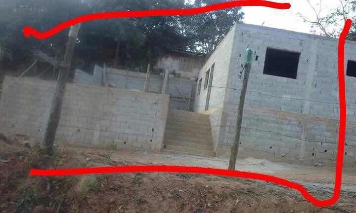 casa e terreno - 2 quarto - 1 banheiro em franco da rocha