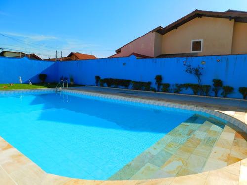 casa em 2 lotes c/ piscina a venda em peruíbe