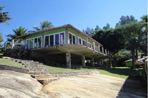 casa em angra dos reis - rj c/ praia particular - 338