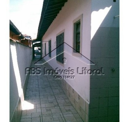 casa em balneário maracanã - praia grande -  ca 212