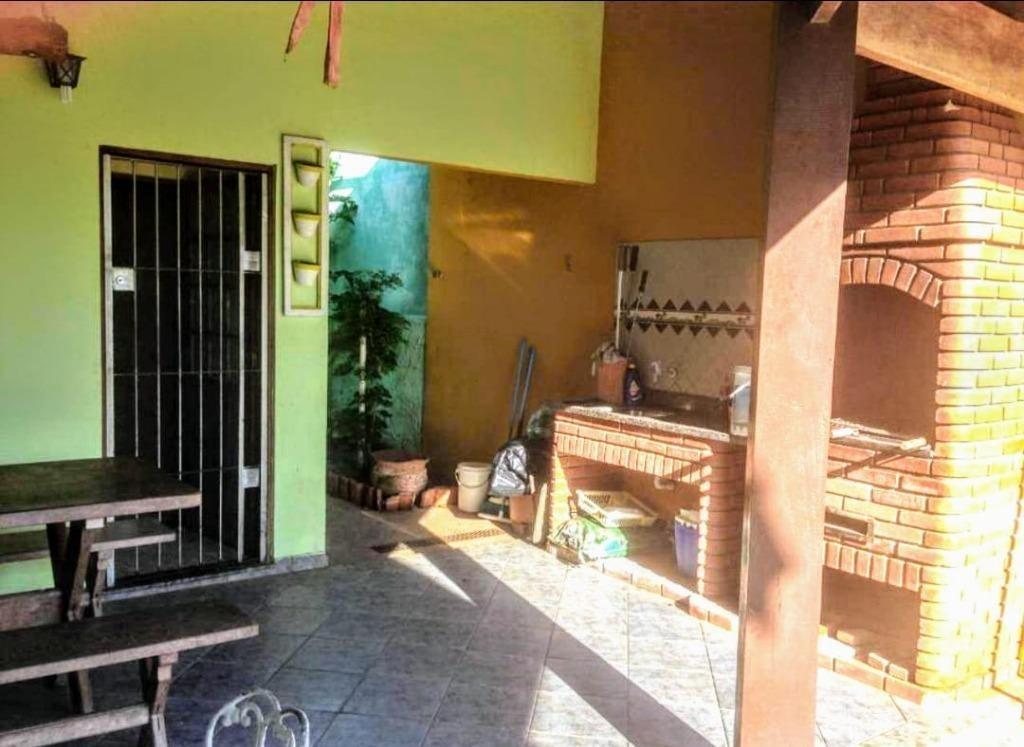 casa em belas artes, itanhaém/sp de 105m² 2 quartos à venda por r$ 318.000,00 - ca586007