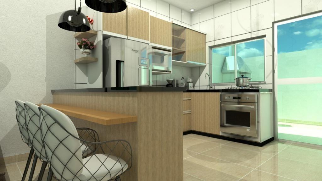 casa em belas artes, itanhaém/sp de 65m² 2 quartos à venda por r$ 230.000,00 - ca585875