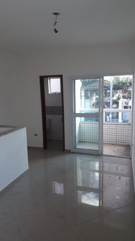 casa em bom retiro, santos/sp de 70m² 2 quartos à venda por r$ 275.000,00 - ca221605