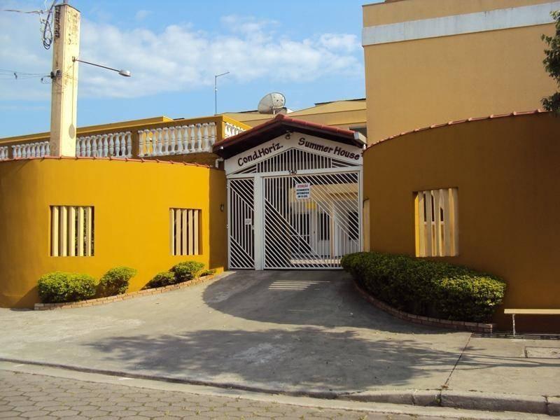 casa em condomínio a 100 metros da praia. - ca0656